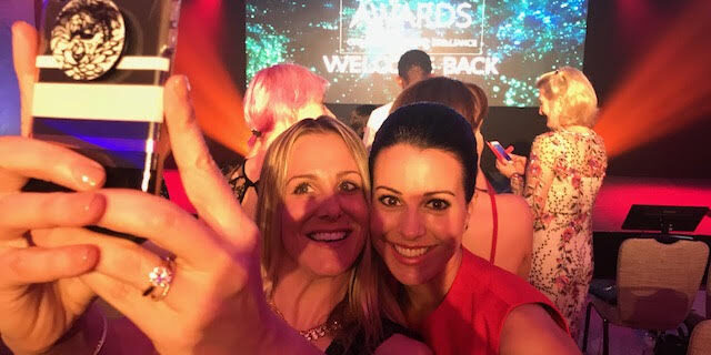 """Red Carpet with Pamela of """"Travel Like a Chieff,"""" title crown of 2018 Internation Influencers #UKBA18"""